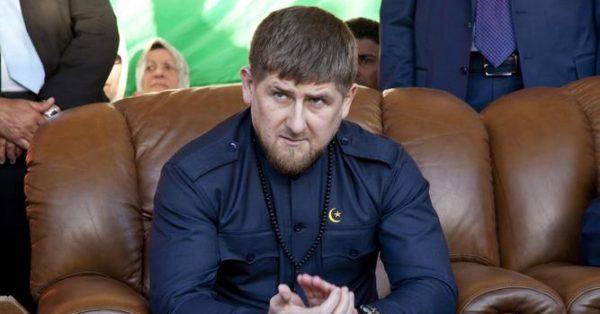 Глава Чеченской республики Р. Кадыров