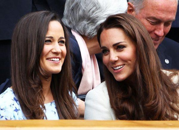Кейт со своей сестрой Пиппой
