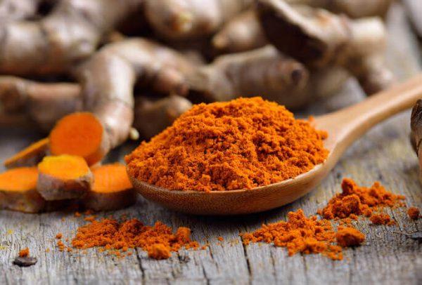 Оранжевая куркума