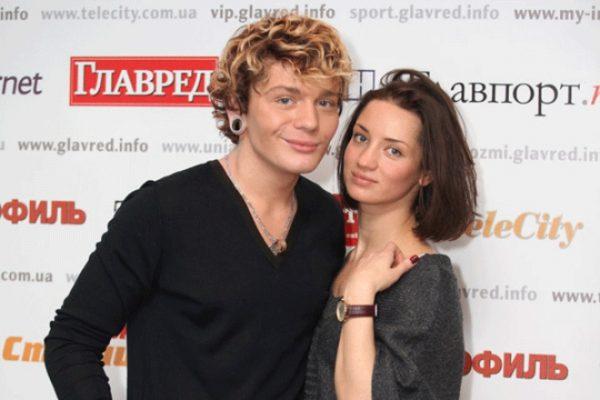 Со вторым супругом Александром Кривошапко
