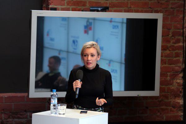 Заместитель директора Департамента МИДа - Мария Захарова