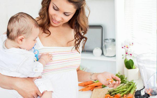 В рацион следует включить больше овощей и фруктов
