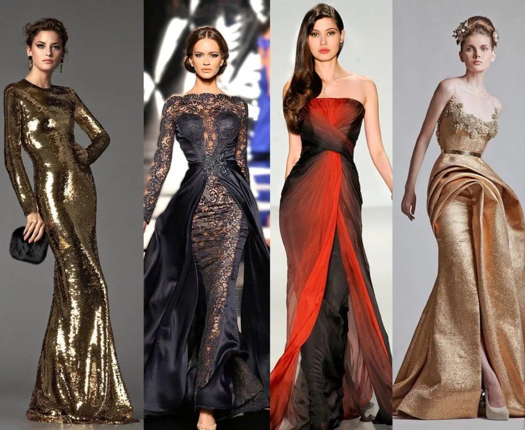 Благодаря таланту стилистов и дизайнеров, для новогоднего вечера можно подобрать для себя любой образ