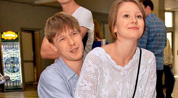 С бывшей женой Анной Гладких