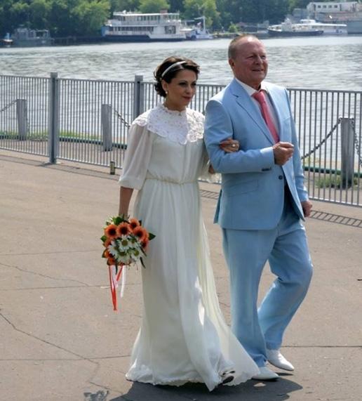 Фото со свадьбы Инны Разумихиной и Бориса Галкина