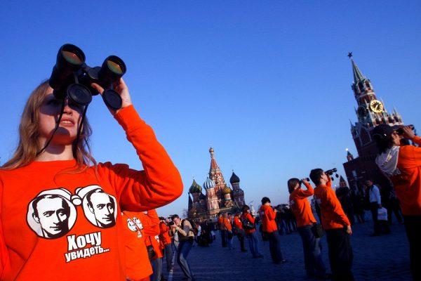 Ксения часто участвует в различных митингах