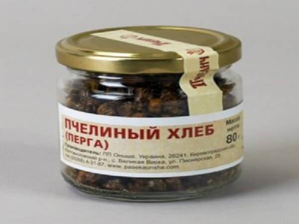 Перга иди пчелиный хлеб