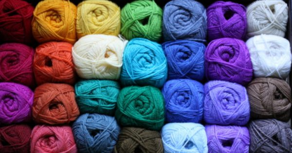 Нитки для вязанья