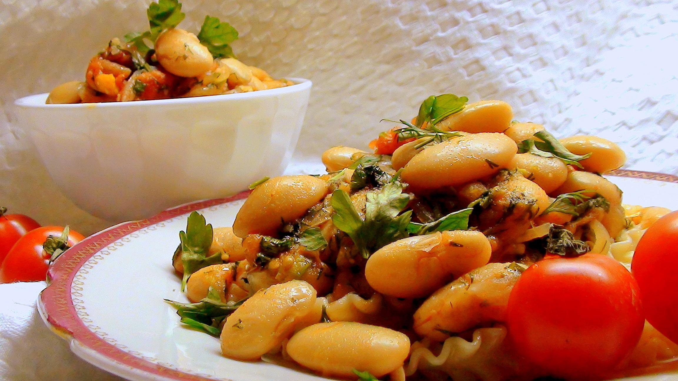 Аппетитное постное блюдо, приготовленное из простых продуктов