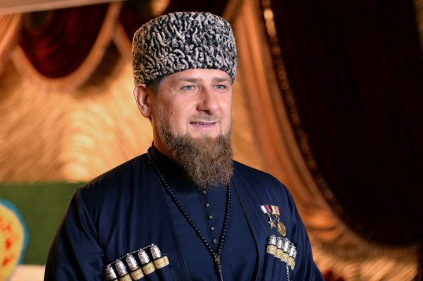 Глава Чеченской республики перед присягой