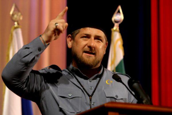 Фото: Рамзан Кадыров во время выступления