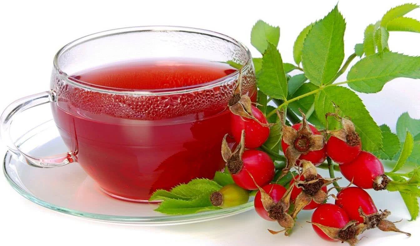 Небольшая чашечка напитка из шиповника в день укрепит ваше здоровье