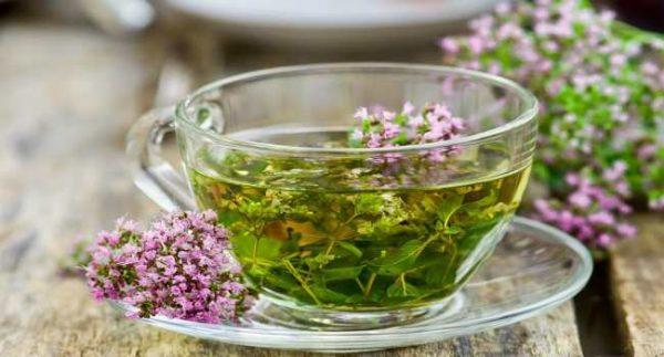 Вкусный чай из тимьяна