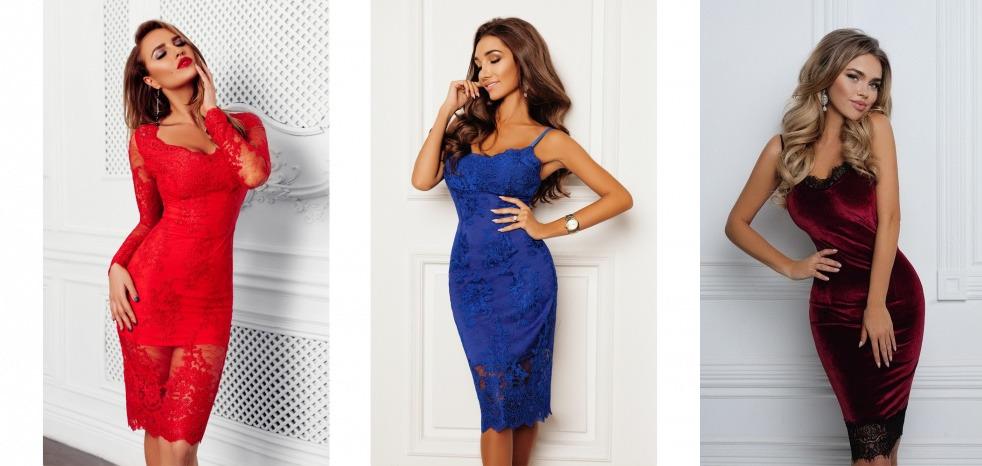 Любой вариант такого шикарного платья станет отличным выбором для встречи нового года