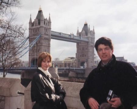 Сергей Захаров с женой