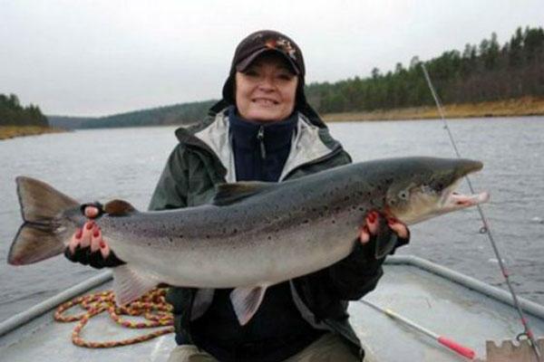 В свободное от работы время Марина Ковтун отдает предпочтение рыбалке