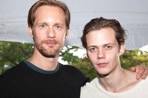 Актер со своим старшим братом Александром