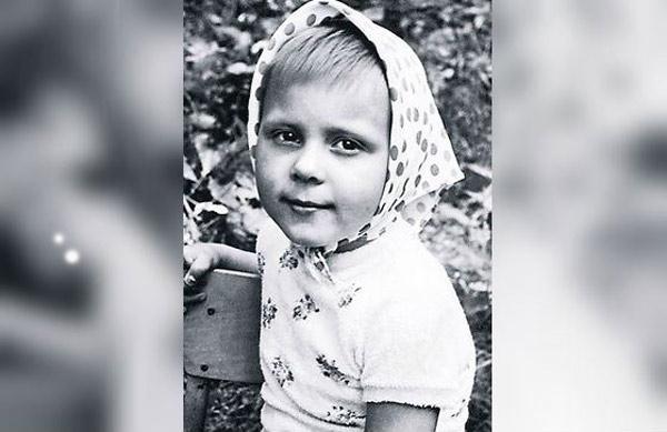 Детские фото актрисы