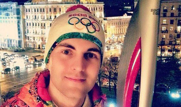 Дмитрий стал Олимпийским факелоносцем
