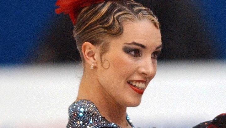 Ирина Лобачева в образе во время ледового представления