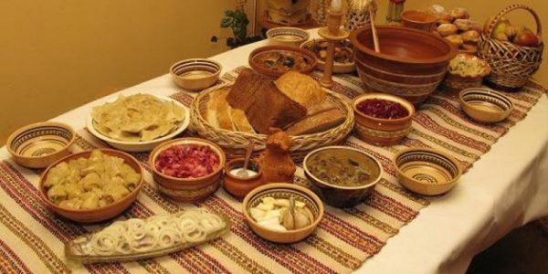 После поста можно подать к столу любимые блюда