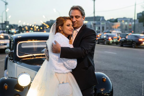Свадебное фото Карины Мишулиной