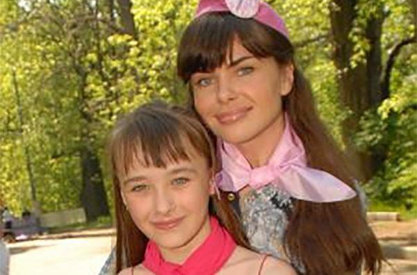 Инна Гомес с дочерью