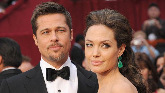 Брэд познакомился с Анджелиной на съемках