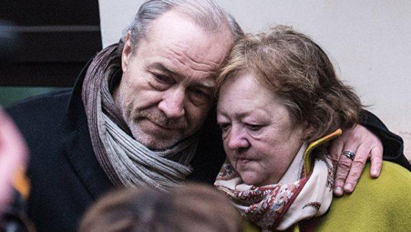 На похоронах Людмилы Гурченко