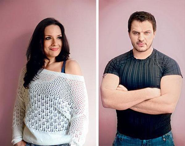 Биланов с бывшей женой