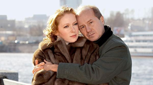 С мужем Андреем Паниным