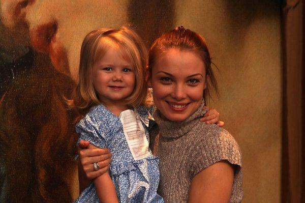 Татьяна с дочерью Марией