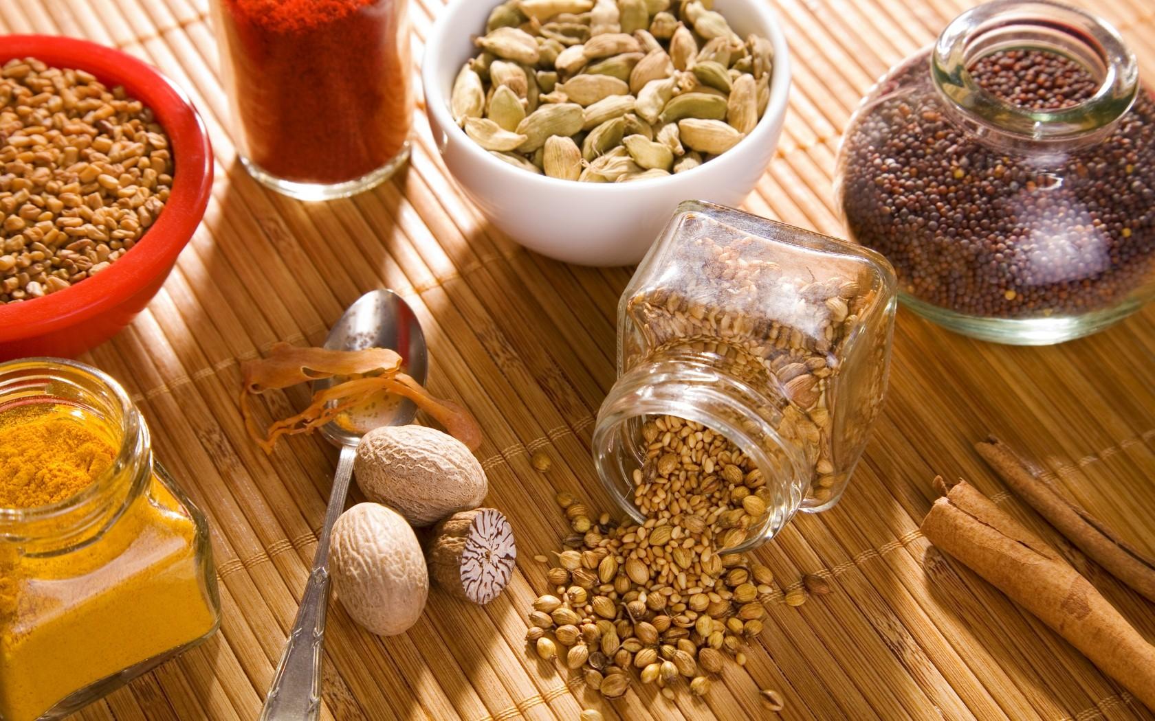 Плоды кориандра входят в состав очень многих известных специй