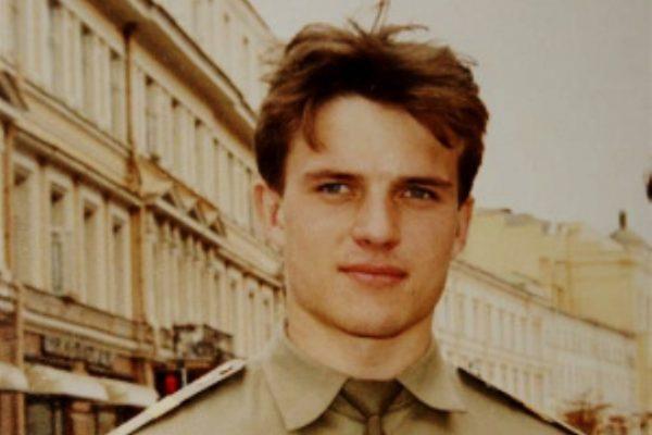 Андрей Биланов в молодости