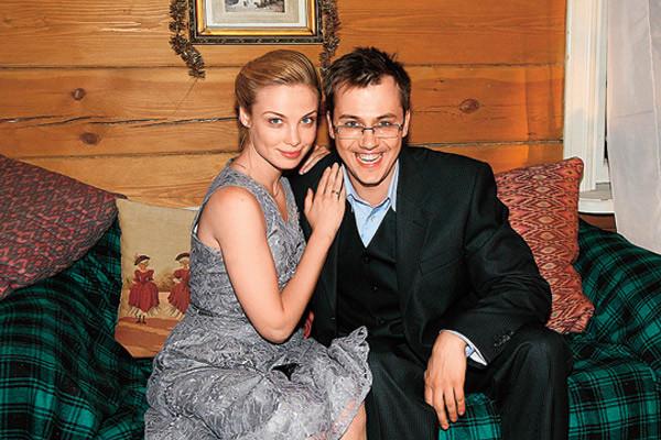 С бывшим мужем Иваном Жидковым