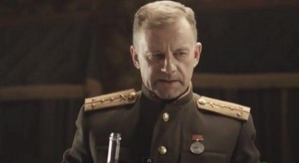 "Кадр из фильма ""Контрибуция"""
