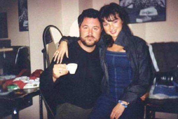 С первым мужем Максимом Леонидовым