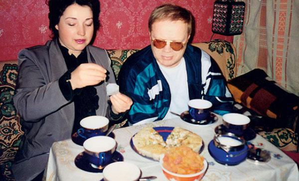 Н. Годовиков со своей третьей женой Людмилой
