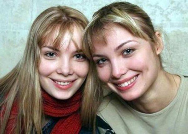 Татьяна в молодости со своей сестрой Ольгой