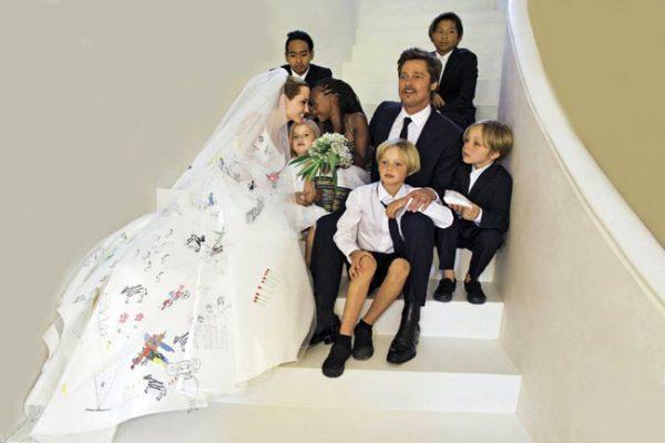 Свадебное фото знаменитостей