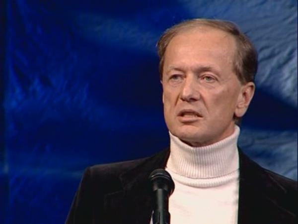 М. Задорнов во время выступления