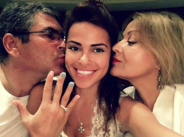 На фото Галина со своими родителями