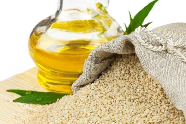 Кунжутное масло широко применяют в косметологии