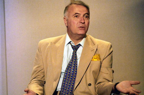 Ведущий программы «Добрый вечер, Москва» Борис Ноткин