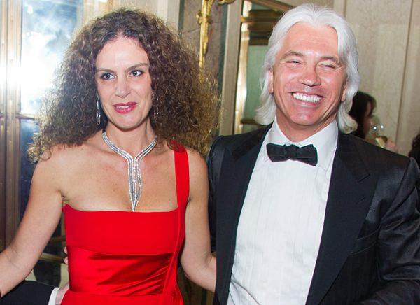 Со второй женой Флоранс Илли