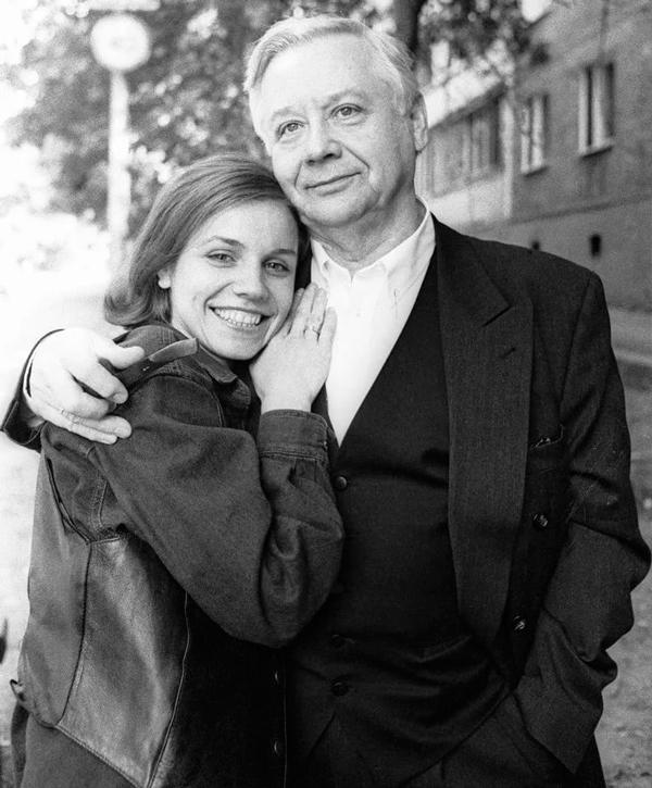 Людмила Ивановна Крылова и Олег Табаков