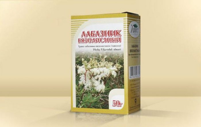 Лекарственное растение в упаковке