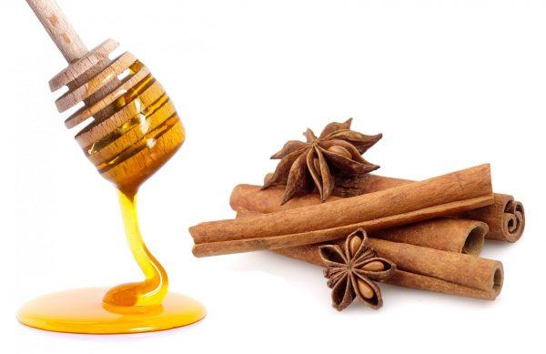Корица с медом очень полезное средство