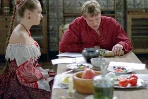 """Кадр из сериала """"Бедная Настя"""""""