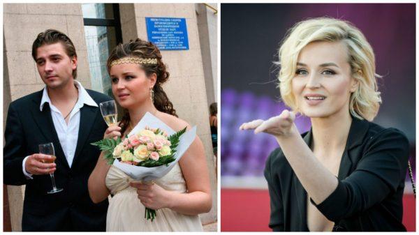 Вторая жена актера певица Полина Гагарина